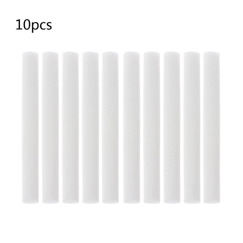 8mmx120mm Cotton Swab for Air Humidifier for car diffuser Aroma Diffuser Humidifiers Filters Can Be Cut Replace Parts 10 PCS8mmx120mm Cotton Swab for Air Humidifier for car diffuser Aroma Diffuser Humidifiers Filters Can Be Cut Replace Parts 10 PCS