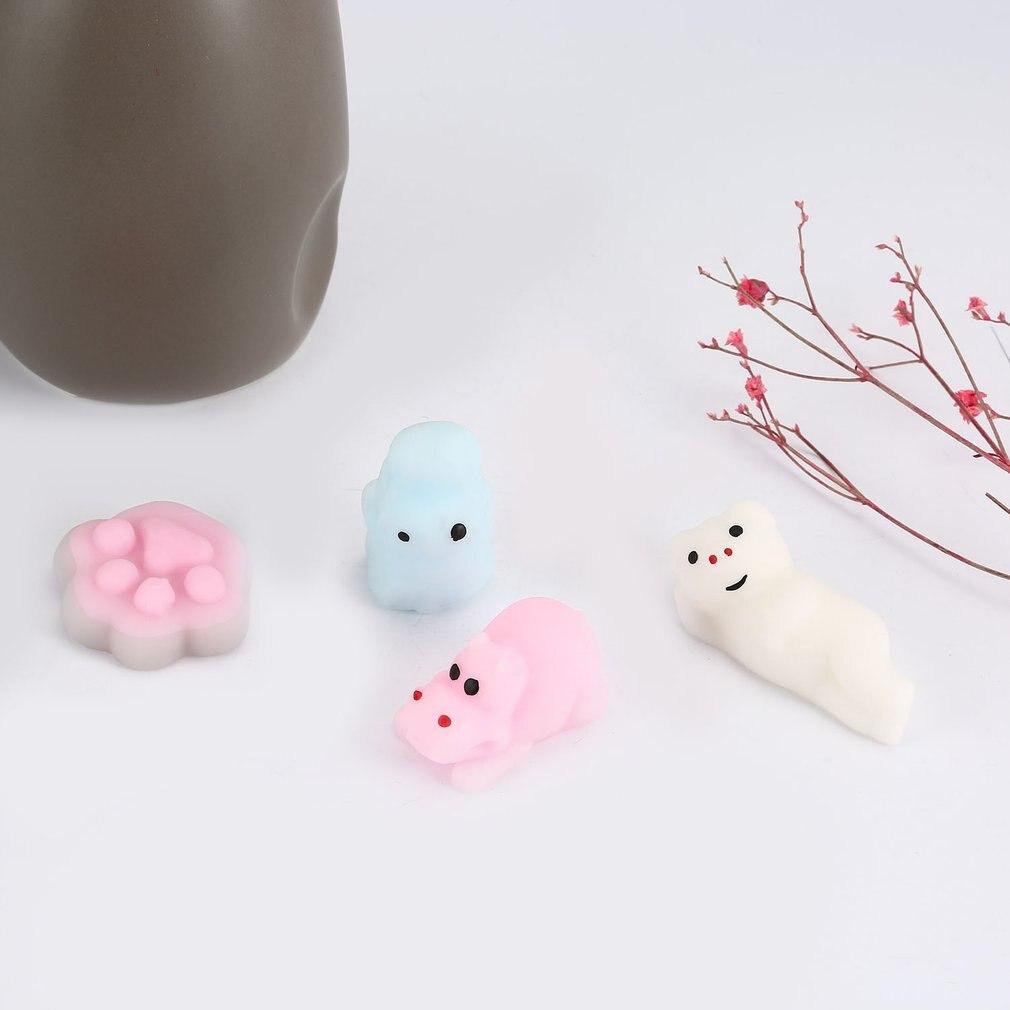 Мягкие мини мягкие игрушки для снятия стресса милые животные дизайн Skuishy Animales панда для сдавливания декомпрессии игрушки для детей и взрослых