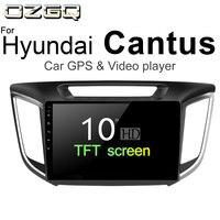 OZGQ Android 7,1 10 дюймов расширения памяти gps навигации MP3 аудио книги плеер для hyundai Cantus 2014 2018