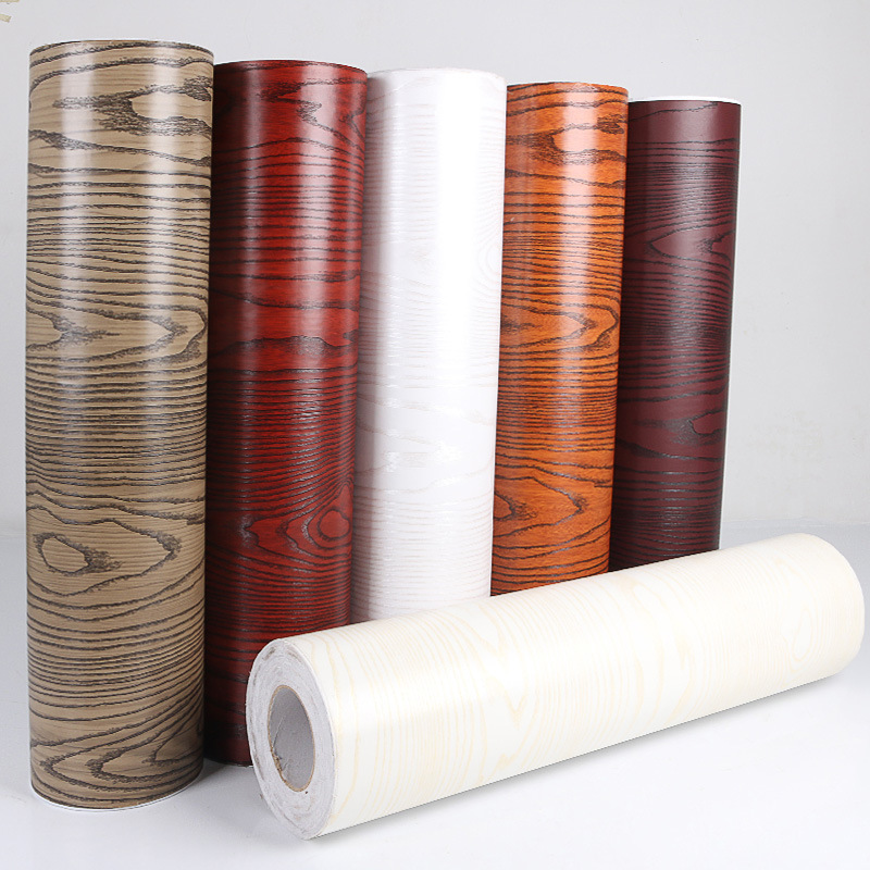 Pvc Wood Furniture ~ Pvc wall paper sticker meter self adhesive