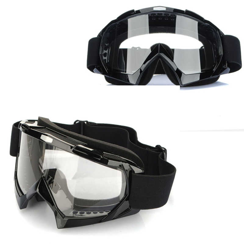 5323256438 Goggles Motocross Super Motorcycle Bike ATV Motocross Ski Snowboard Glasses  Off-road Goggles Fits Over