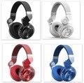 100% de la manera original bluedio t2 turbo inalámbrico bluetooth 4.1 estéreo de auriculares de ruido auriculares con micrófono de alta calidad bajo