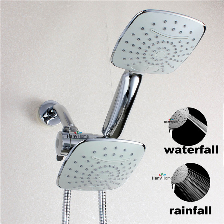 Aliexpress.com : Buy 2 Function Chrome HandHeld Shower Head & 3 way ...