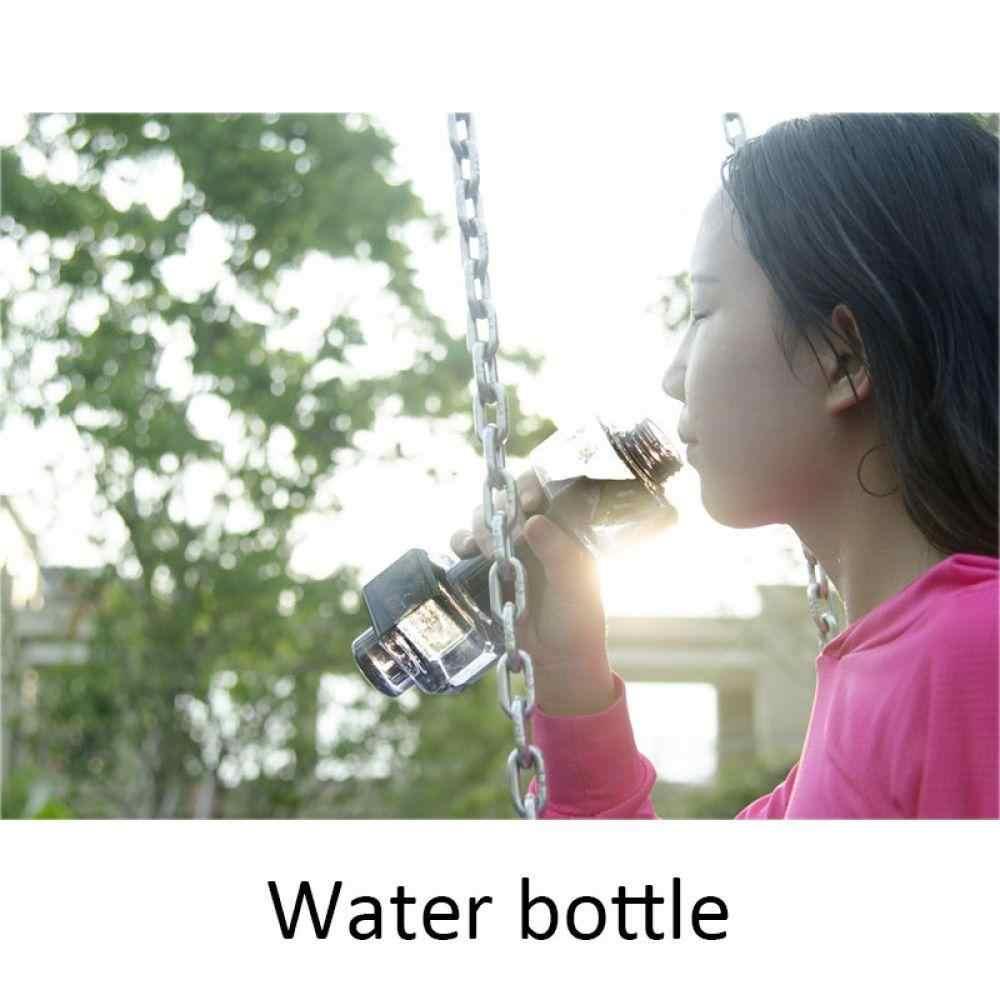 550 мл гантели оформленные спортивные бутылки с водой Герметичный портативный Небьющийся мой Спортивная пластиковая бутылка шейкер фитнес для мужчин/женщин