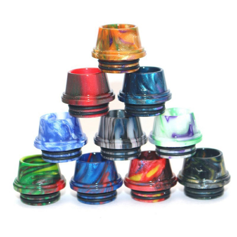 810 Drip Tip Resin Mouthpiece For X-Priv Stick V8 V8 Big Baby V12 Prince DRAG UFORCE T1 T2 E Cig Revenger NRG Accessories