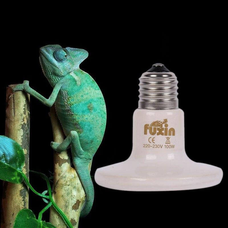 110/220V Pet Infrared Ceramic Emitter Heating Light Bulb E27 Lamp Bulbs 80mm 50//75/100/150W For Reptile Pet Brooder