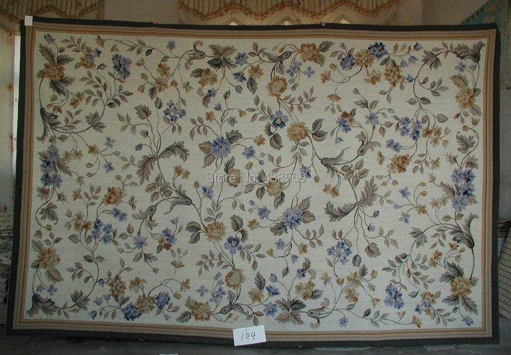 Livraison gratuite 6'x9' 10 K tapis à l'aiguille tapis décoratifs 100% nouvelle-zélande laine exportation vers l'europe et l'amérique prix de gros