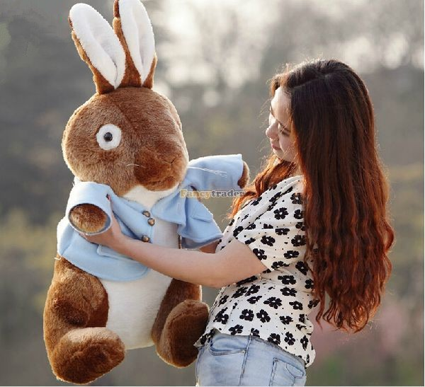 Fancytrader 31\'\' 80cm Fashion Giant Stuffed Soft Plush Peter Rabbit, Free Shipping FT50447 (8)