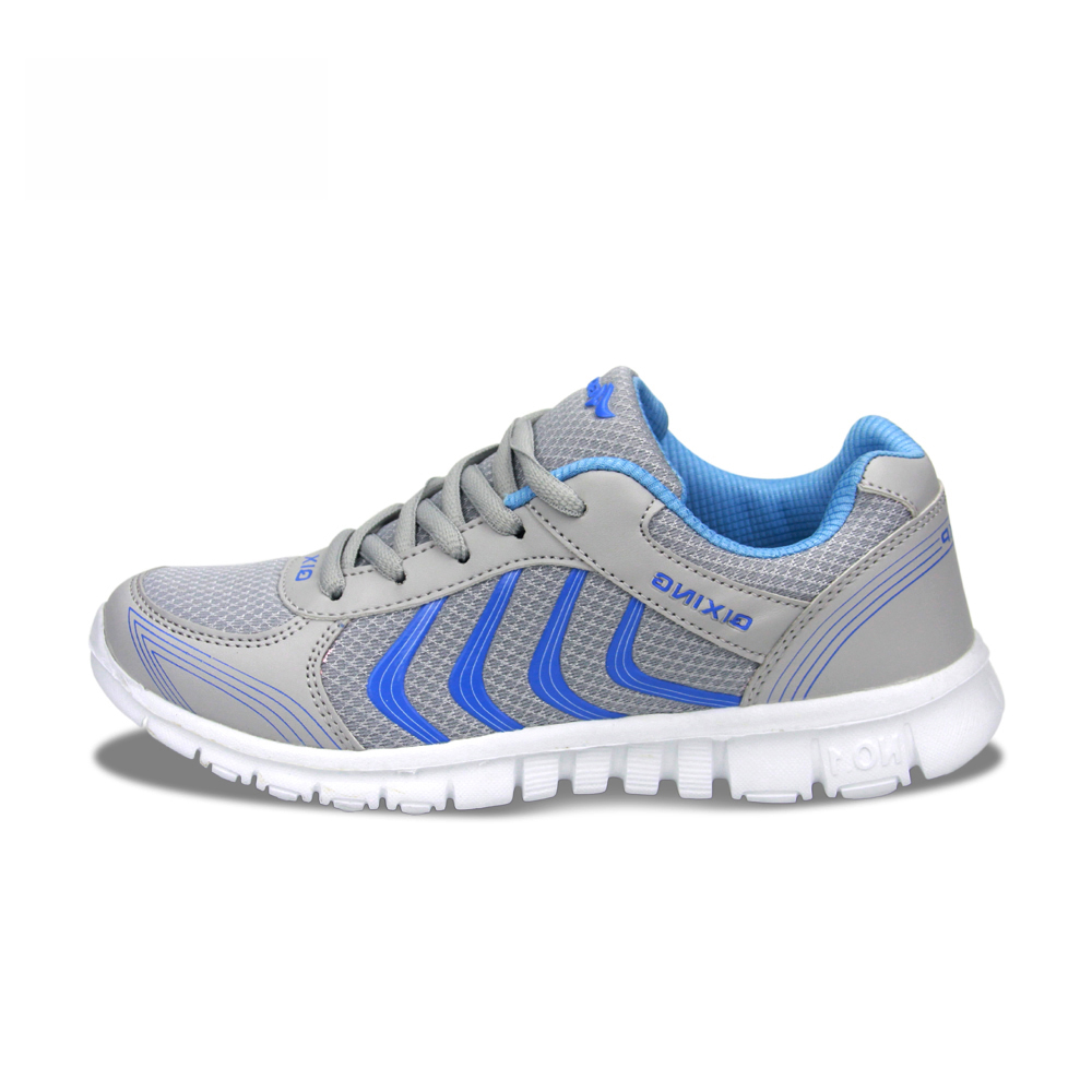 fefeaa1ab0 Plus Size Stability Women Men Sport Running Shoes Sneakers Breathable Mesh  Soft Trainers Quality Platform Shoe Lace up Wholesale-in Running Shoes from  ...