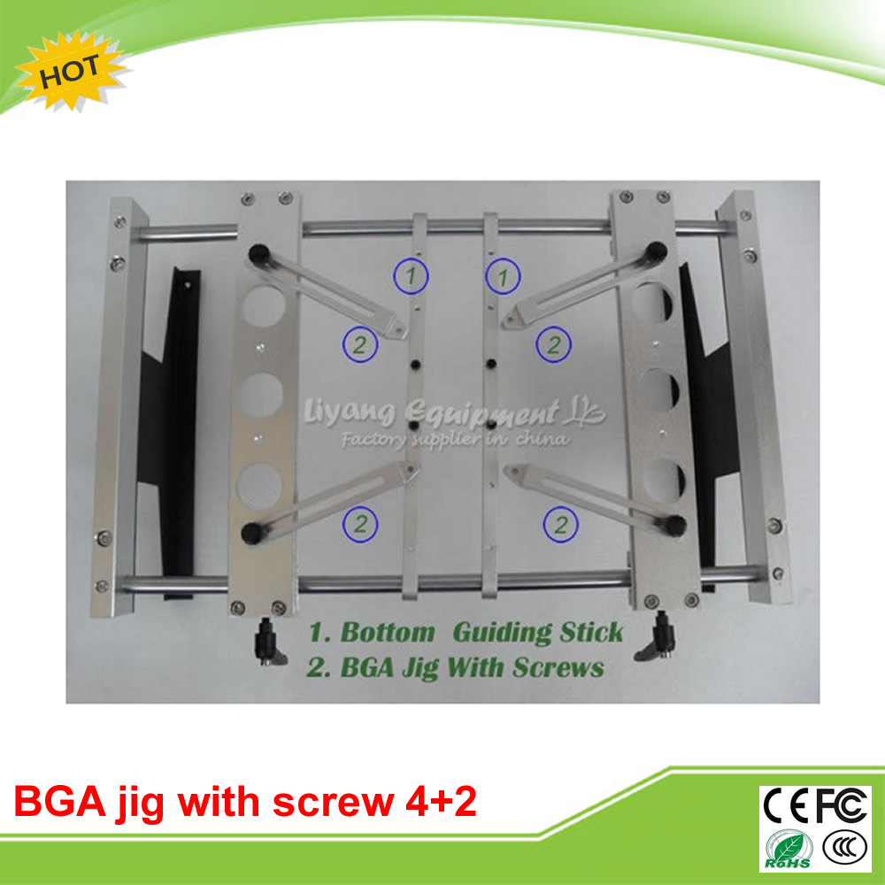 BGA support Jig bga fixture (x4pcs) Bottom support toggle clamp (x2pcs) For IR6000 IR6500 IR9000 etc rapid fixture clamps fixture clamp fastening compactor gh101a