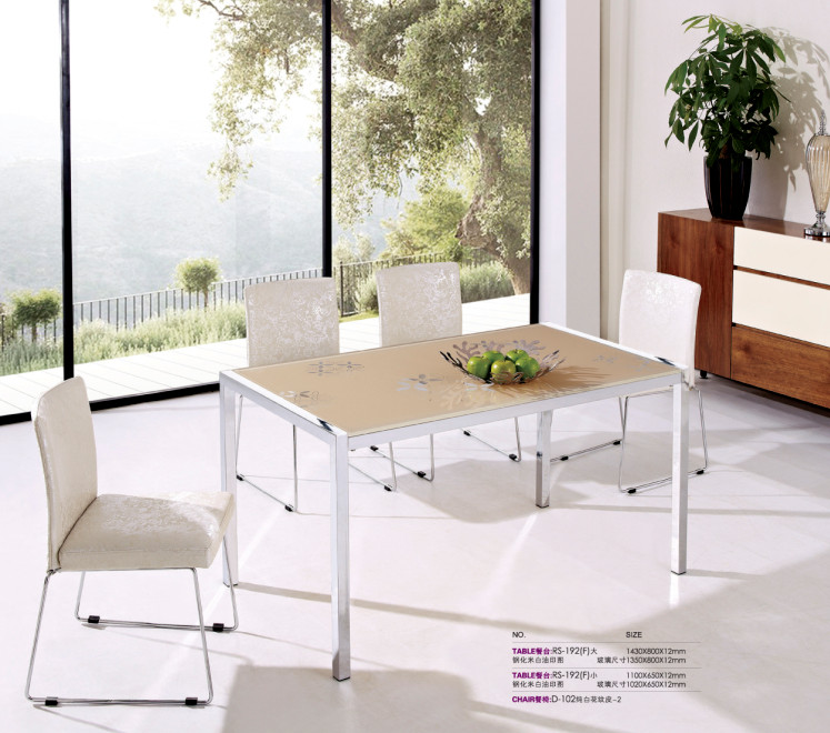 Us 320 0 2016 Alibaba Furniture Dining Table With Gl Top Designs In Tables From On Aliexpress