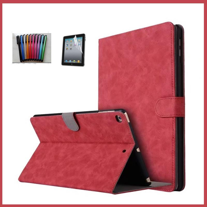 For iPad 9.7 2017 2018 New PU Leather Case Shockproof Protective Stand For Apple iPad 2018 Tablet 9.7 inch Smart Cover Fundas