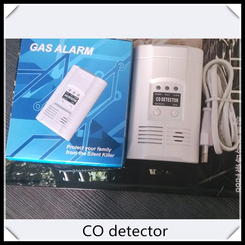 Carbon Monoxide Alarm   CO gas detector with CE AC220V Powered Carbon Monoxide detector handheld gas detector alarm portable oxygen detector co concentration carbon monoxide monitor 0 999 ppm co gas analyzer meter