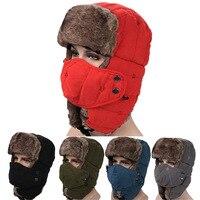 2019 Men And Women Pilot Cap High Quality USA ARMY Winter Hat Warm High end Ear Cap Free Shipping PATA22 23