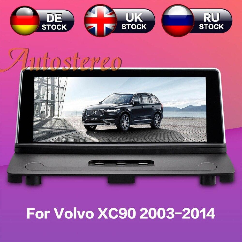 Android 7.1 Auto di navigazione GPS Per Volvo xc90 2007-2013 No lettore DVD stereo Navigatore Satellitare unità di Testa Multimedia radio registratore a nastro IPS