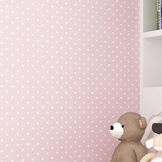 comprar moderno simple shimmer pequeos lunares casa de muecas decoracin del hogar dormitorio papel pintado no tejido para la habitacin