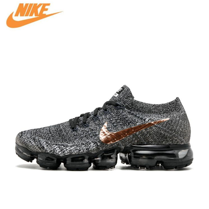 Nike AIR VAPORMAX FLYKNIT Breathable Mens Original New Arrival Offical Running Shoes Sports Sneakers 849558-010 849557-104