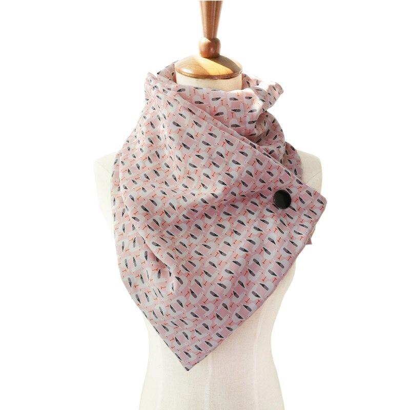 Couverture imprimé animal foulard en soie femmes pour enrouler châle foulards boucle Loopschal écharpe avec boutons foulard femme