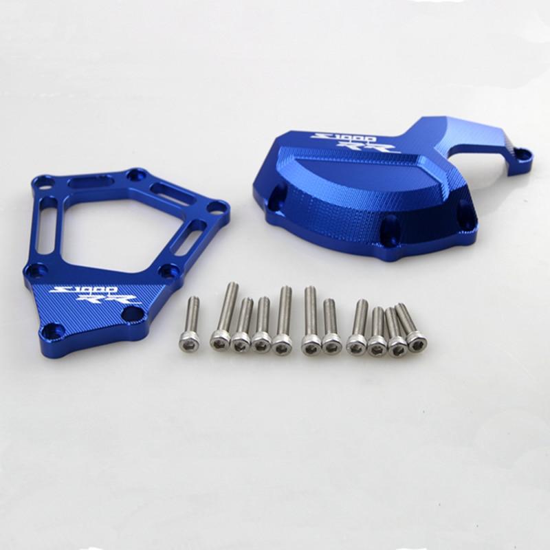 Мотоцикл с ЧПУ Алюминиевый Двигатель статор Чехол слайдер чехол подходит для BMW S1000RR 2009-2014 09 10 11 12 13 14
