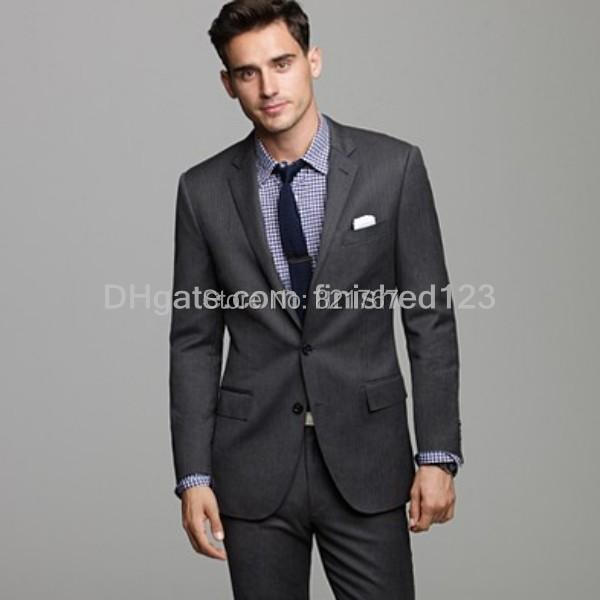 Charcoal Grey Suit What Color Shirt | My Dress Tip