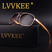 LVVKEE Hot Sale Aluminum Magnesium Alloy Frame Polarized Sunglasses Men