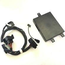 RNS510 9W2 Bluetooth Módulo + Plug & Play Arnés + Micrófono Para VW Golf Jetta MK5 MK6 Passat B6 MKV Tiguan Touran 1K8 035 730 D