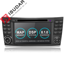 Isudar Due Din Car Multimedia Player Android 8.1 Lettore DVD Per Mercedes/Benz/E-Class/W211 /E300/CLK/W209/CLS/W219 GPS Radio 16 GB