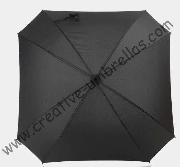Forme carrée, 130 cm diamètre parapluie de golf, universel firgured shape.14mm en fiber de verre arbre et 3.5mm en fiber de verre côtes