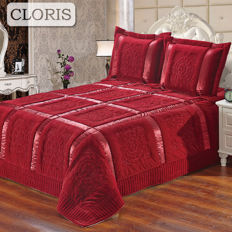 CLORIS Comfortable Blanket Moscow Deliver Family Paild King Size Double Pillowcases High Quality Sofa Bedspreads Travel Blanket smoby детская горка king size цвет красный