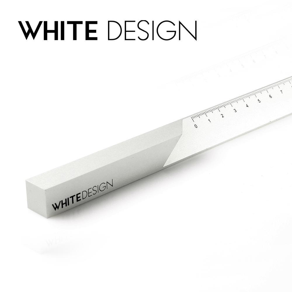 Architect Aluminum Alloy Scale Ruler Office Stationery  Creative Designer Metal Ruler