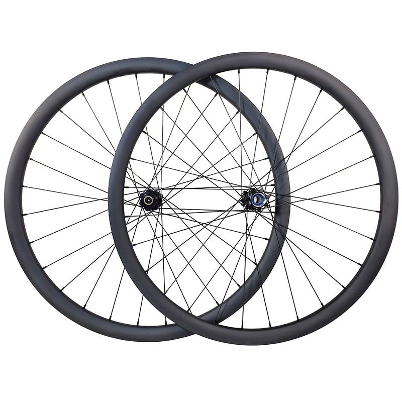 1300g 29er MTB XC carbon lefty 2 0 wheels 30mm tubeless 30mm deep straight pull clincher