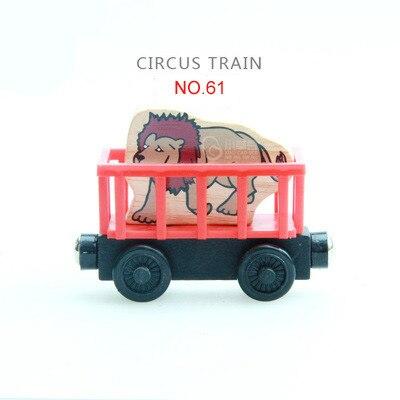EDWONE деревянный магнитный Поезд Самолет деревянная железная дорога вертолет автомобиль грузовик аксессуары игрушка для детей подходит Дерево Biro треки подарки - Цвет: 61