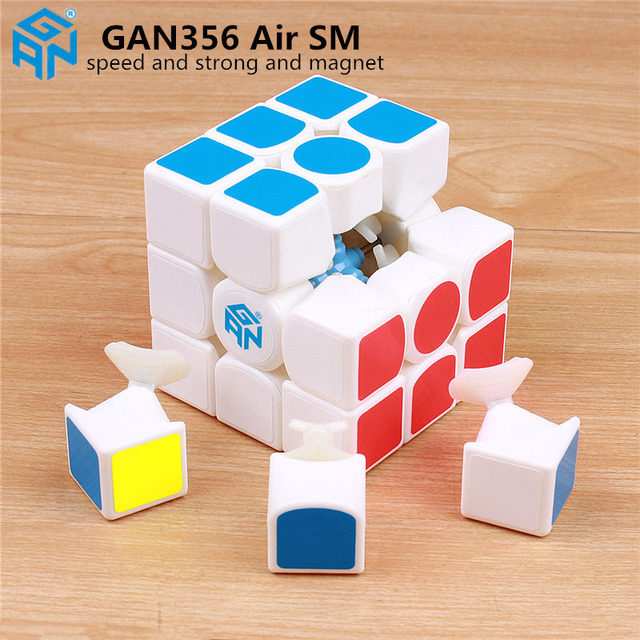 GAN 356 Air SM 3x3x3 with magnetic puzzle magic speed cube professional gans 356 professional cubo magico Gan356 Air version 249Puzzles & Games