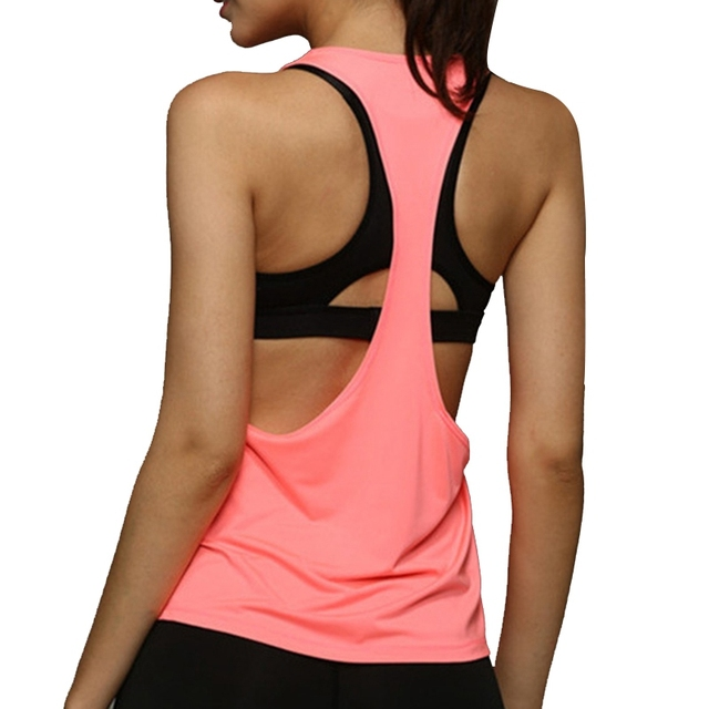 Women's Loose Style Yoga Tank Top 4 Colors  S-L