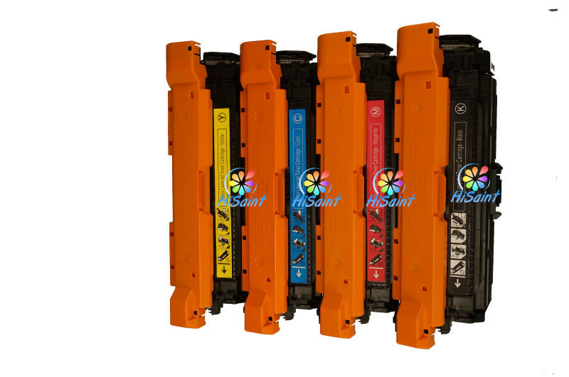 Office Equipment Compatible Toner Cartridge CE250A CE251A CE252A CE253A For HP Printing Office supplies and parts