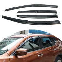 Car Window Visor Rain Sun Guard Vent Shade Set For Nissan Altima 08 12