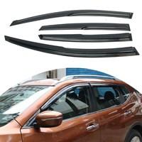 Car Window Visor Rain Sun Guard Vent Shade Set For Nissan Altima 08 12