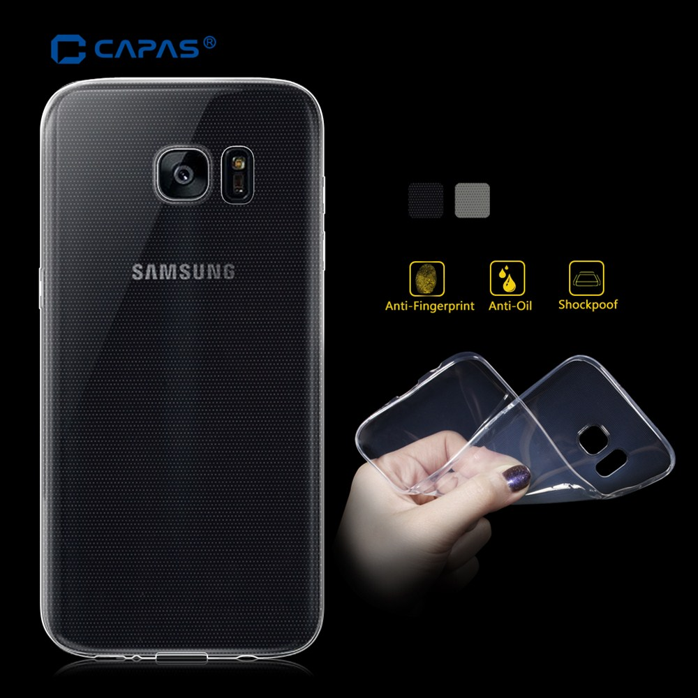 reputable site d6635 53d67 US $4.2 |For Samsung Galaxy S7 edge Case Clear Ultra Slim Flexible Back  Cover for Galaxy S7 edge Case Premium Soft Protective Shell-in Fitted Cases  ...