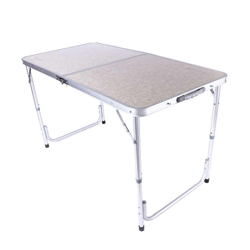 Office Table Portable Camping Outdoor Golden Aluminium Alloy Foldable Folding Picnic Desk Ultralight Tables For Hiking
