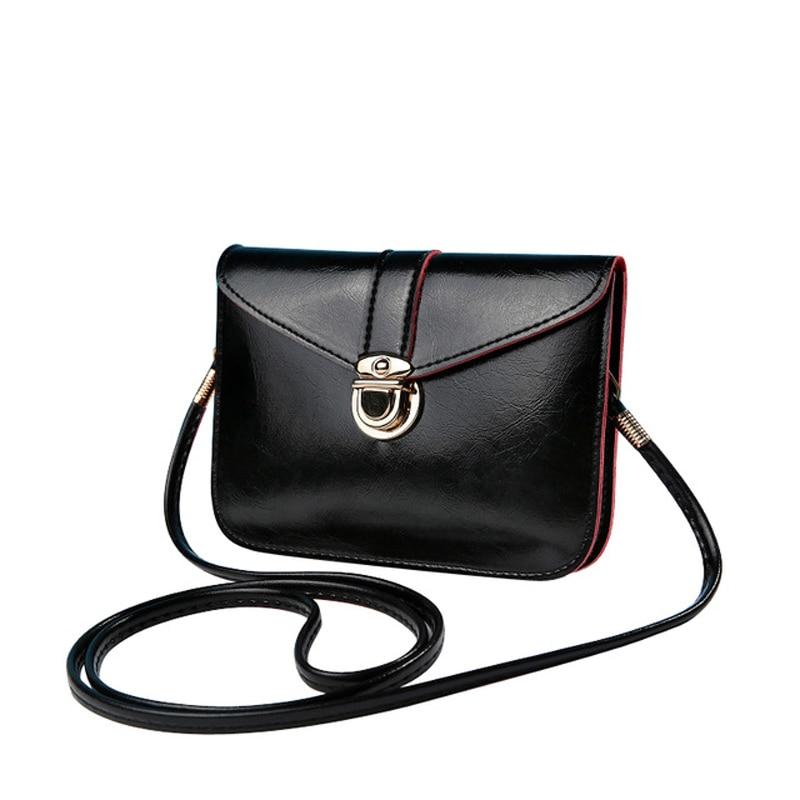 Mini Square Bags Woman Retro PU Leather Female Crossbody Bag Solid Color Fashion Ladies Shoulder Small For Women