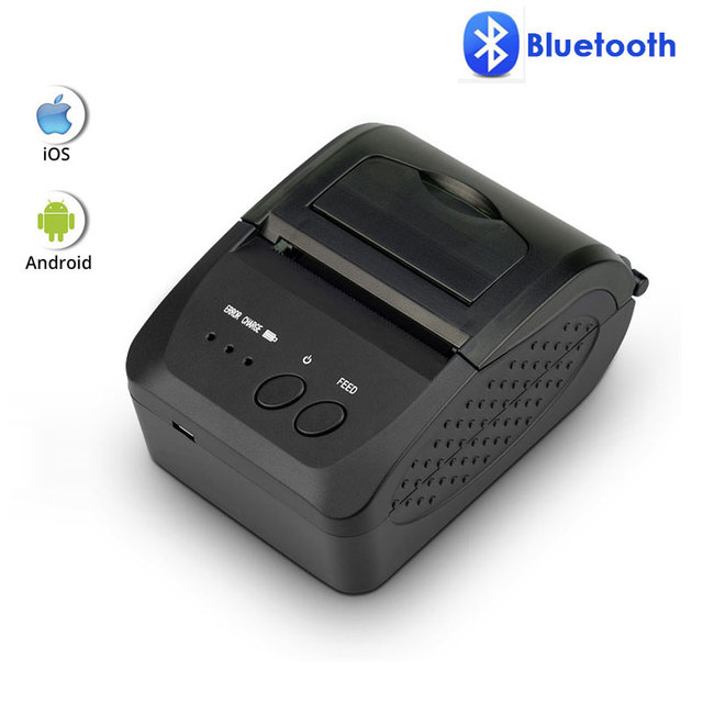 NETUM NT-1809DD 58mm Bluetooth Thermal Receipt Printer for Android IOS Windows AND 5890T RS232 Port Receipt Printer POS Portable 1