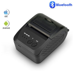 NETUM NT-1809DD 58mm Bluetooth Thermal Receipt Printer for Android IOS Windows AND 5890T RS232 Port Receipt Printer POS Portable(China)