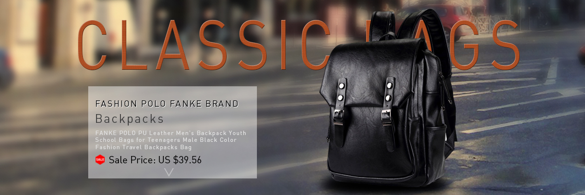 4be524301004 Quality Men s Leather Backpack High School Bags for Teenagers Male Black  Brown Color Fashion Travel Backpacks Bag SG1418