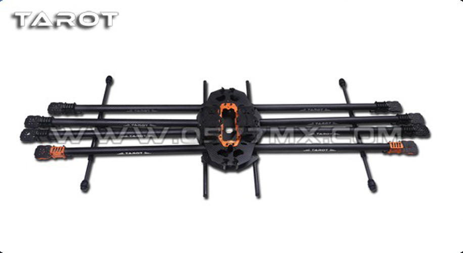 Tarot T15 Full 8 axis Carbon Aircraft Frame 3K Folding Hexacopter FPV TL15T00 tator rc multi rotor helicopter tarot t15 pure 3k carbon folding type octa copter main frame kit fpv tl15t00