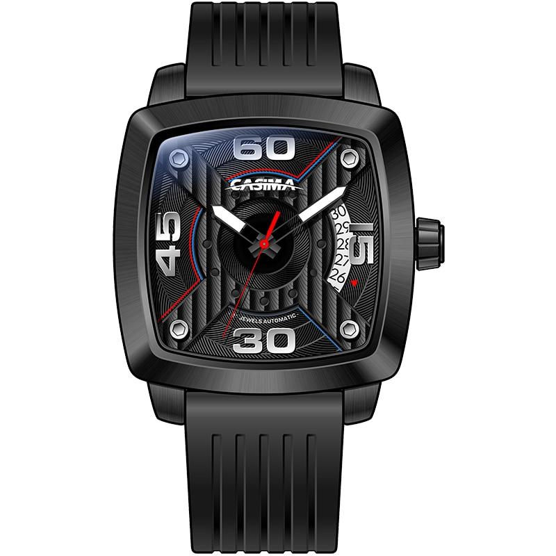 Automatic mechanical men's watch luxury brand watches men fashion business dress classic watch gold waterproof 100m CASIM #6913