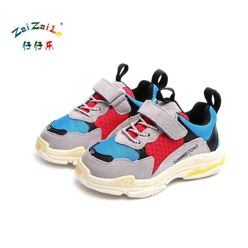 Zaizaile 2018 Printemps Bébé Garçon De Mode Sport Sneaker Enfants ... 49ce2c2cf7f7