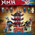Серия ниндзя Храм 6 Стили Фигурки Строительные Блоки Игрушки Дети Подарок Новый В коробке, Совместимый с Lego