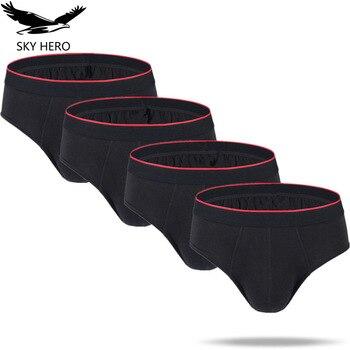 4pcs lot Men Briefs Underwear Convex Pouch Panties Slips homme Sexy Mens Brief Jockstrap Hot Cotton