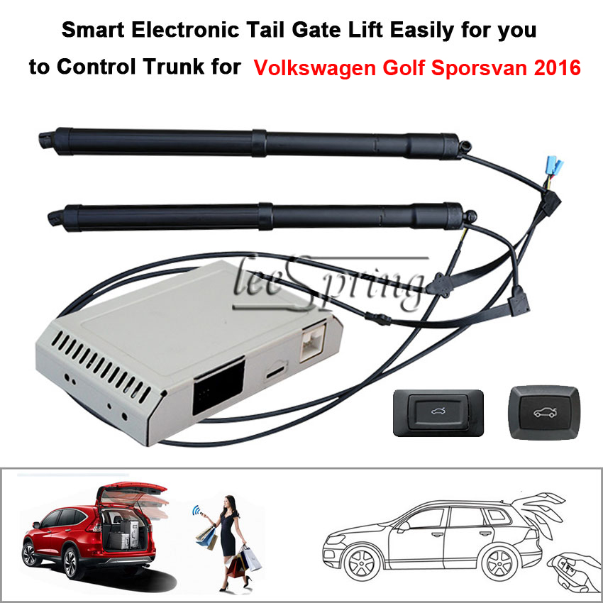 Auto  Electric Tail Gate Lift For Volkswagen Golf Sporsvan 2016 With Latch
