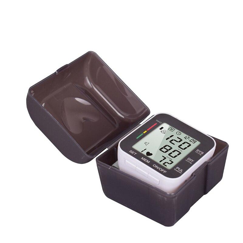 Cyfrowy nadgarstek Monitor ciśnienia krwi sprawdź maszynę automatyczny przenośny do użytku domowego cena promocyjna